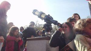 Observación solar OAN