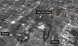 Rastros tsunamis Marte