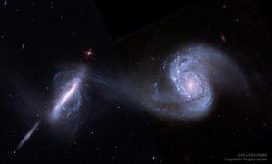 Galaxias Arp 87