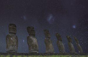 Nubes de Magallanes, Rapa Nui
