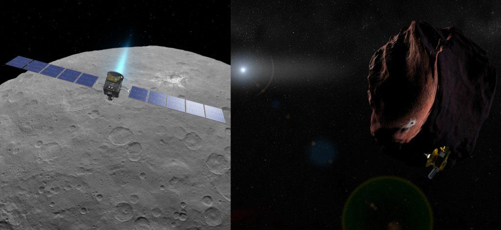 Dawn y New Horizons