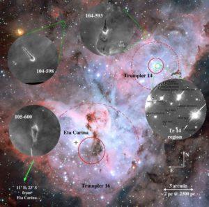 Discos protoplanetarios Carina