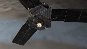 Inserción orbital Juno