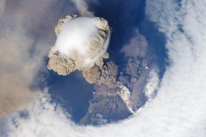 Erupción volcán Sarychev
