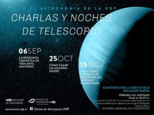 """""""Charlas y noches de telescopio"""""""