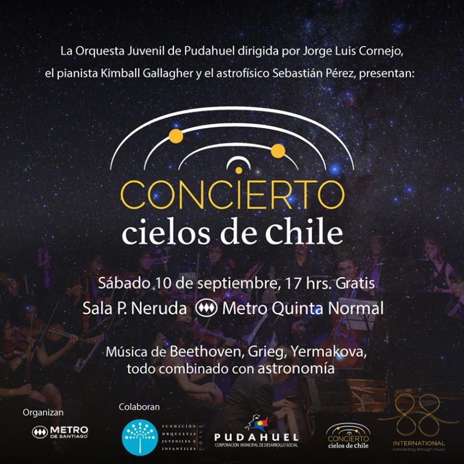 """""""Concierto Cielos de Chile"""""""