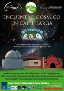 """""""Encuentro Cósmico en Calle Larga"""""""