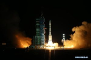 Lanzamiento Tiangong-2