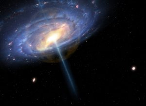 Vía Láctea, fase activa