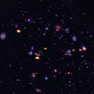 Galaxias en campo ultraprofundo Hubble