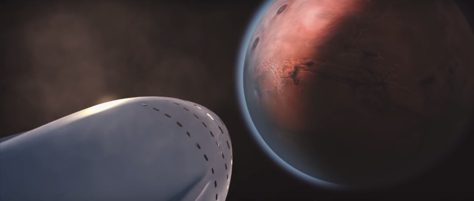 Interplanetary Transport System (ITS), Marte