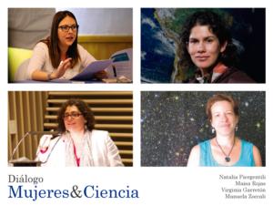 """Diálogo """"Mujeres y Ciencia"""""""