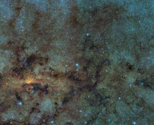 Estrellas variables cerca del centro galáctico