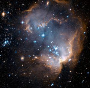 Región formación estelar N90, NGC 602