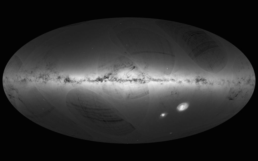 Estrellas Vía Láctea, Gaia