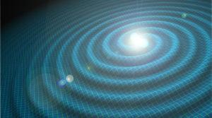 Ondas gravitacionales, luz visible