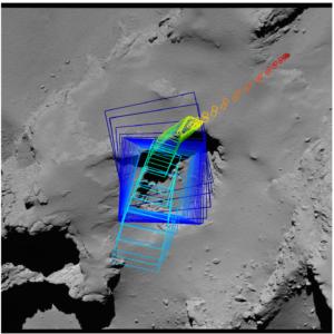 Secuencia final de imágenes, Rosetta