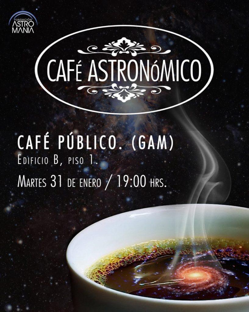 Café astronómico Astromanía, enero 2017
