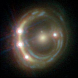 Quásar RXJ1131-1231, lente gravitacional