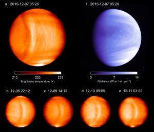 Venus visto por Akatsuki