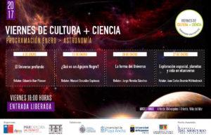 """""""Viernes de Cultura + Ciencia"""", enero 2017"""