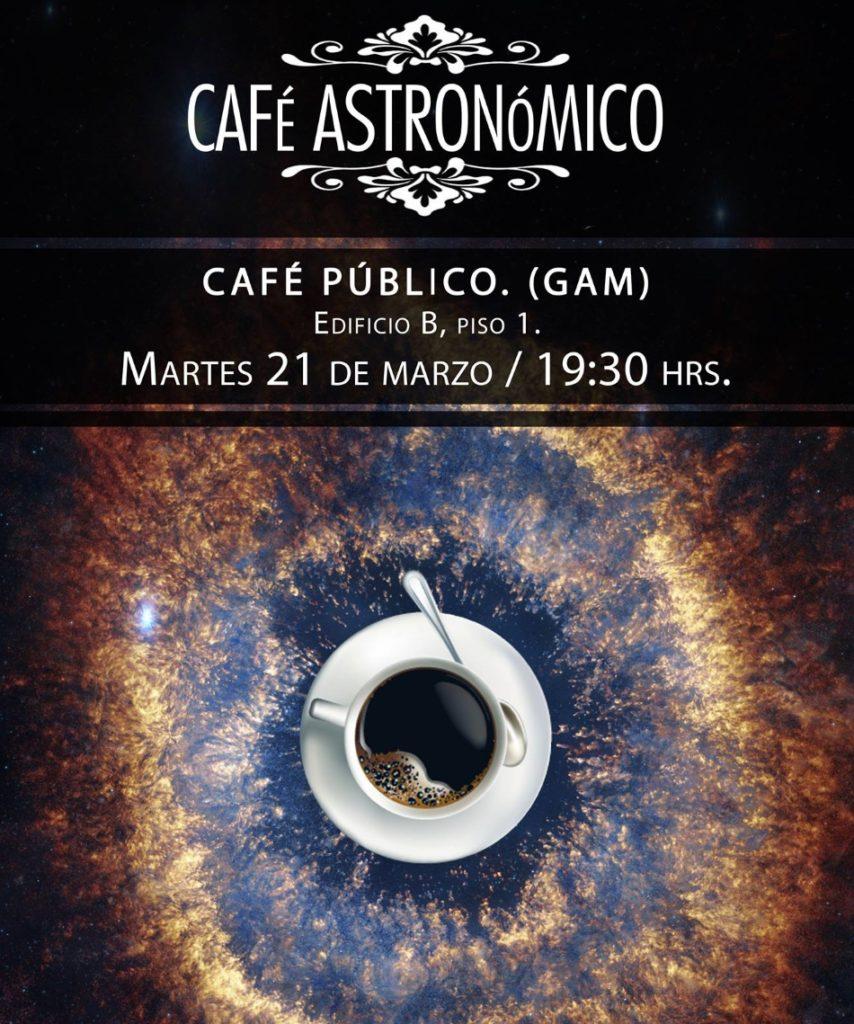 Café astronómico, marzo 2017