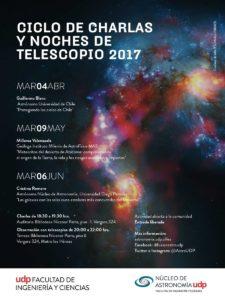 Ciclo de charlas y noches de telescopio 2017