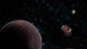 Objeto transneptuniano extremo y un planeta