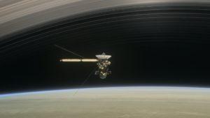 Cassini en Saturno