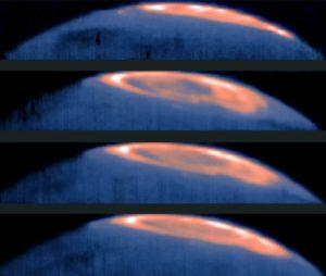 Mancha fría en Júpiter