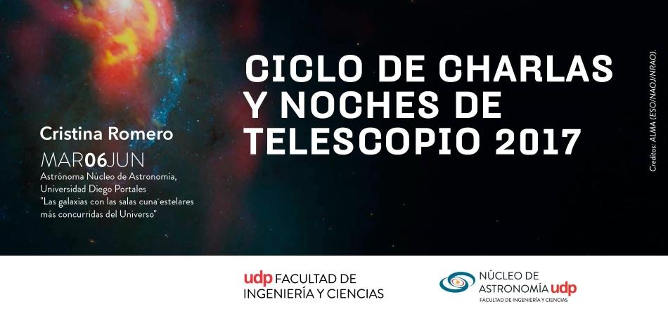"""Charla """"Las galaxias con las salas cuna estelares más concurridas del Universo"""""""