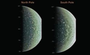 Júpiter desde los polos