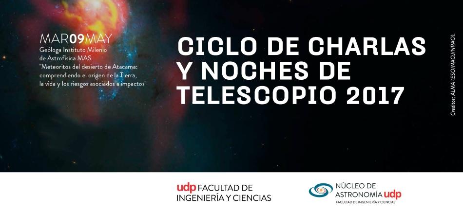 """Charla """"Meteoritos del Desierto de Atacama"""""""