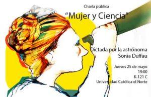 "Charla ""Mujer y Ciencia"""