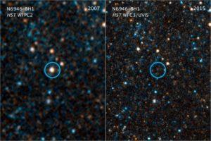 'Desaparición' de estrella N6946-BH1