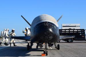X-37B, mayo 2017