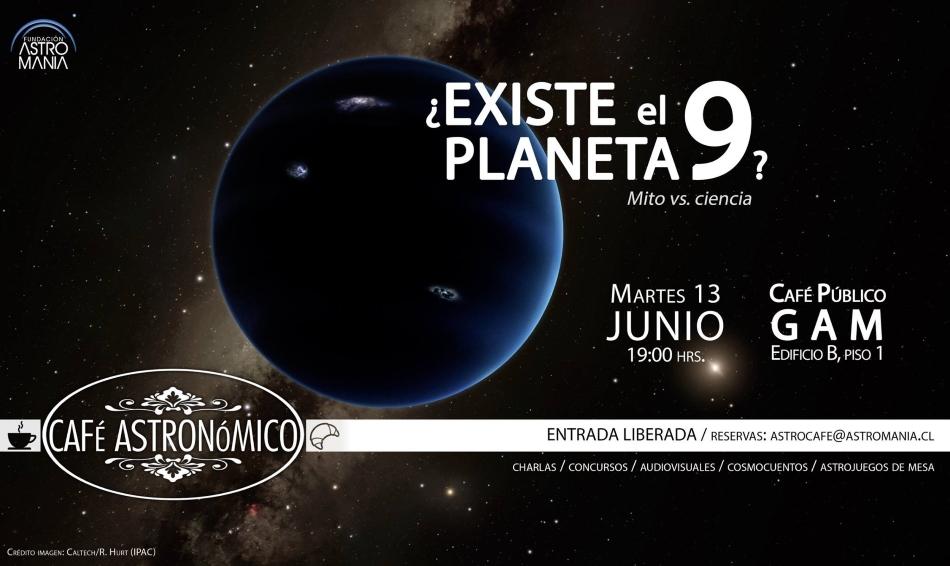 """Café """"¿Existe el Planeta 9?"""""""