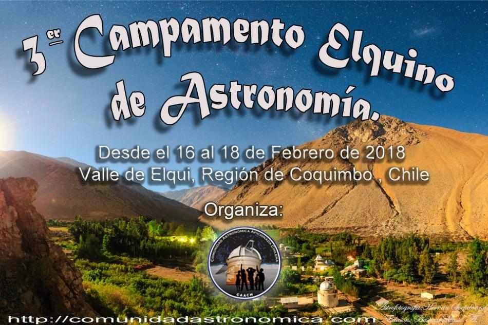 3er Campamento Astronómico en el Valle de Elqui