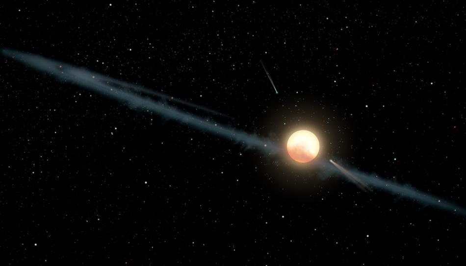 Polvo de KIC 8462852