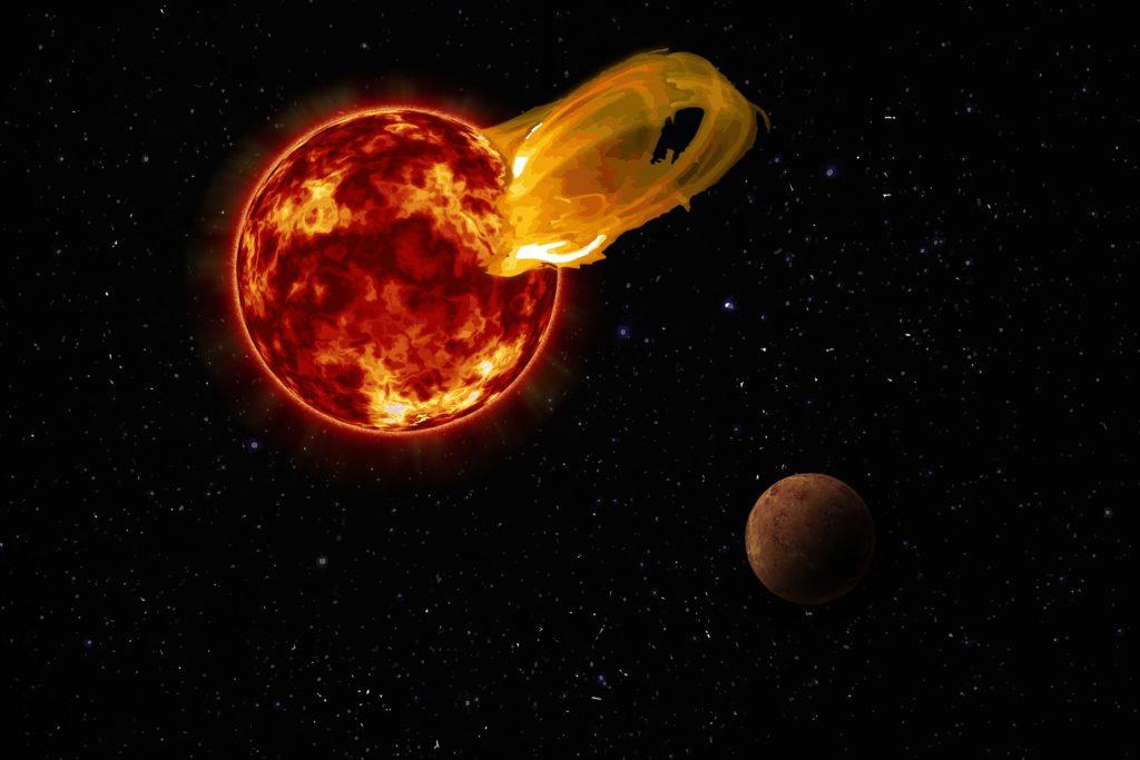 Llamarada Próxima Centauri b
