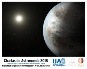 """Charla """"Más allá del planeta Tierra"""""""