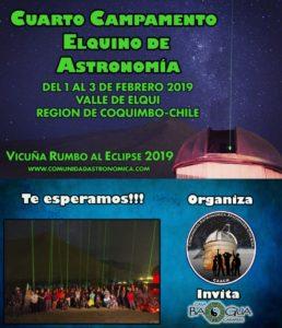 4° Campamento Elquino de Astronomía