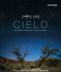"Afiche documental ""Cielo"""