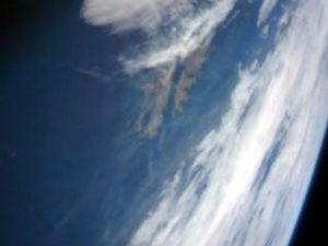 Tierra vista por SUCHAI