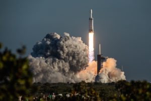 Lanzamiento de Falcon Heavy