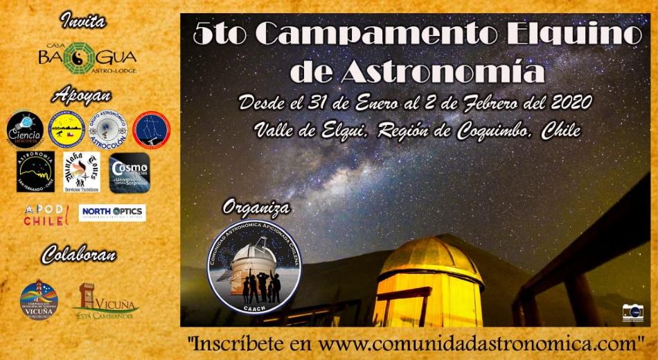 5° Campamento Elquino de Astronomía