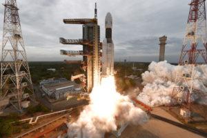 Lanzamiento Chandrayaan-2