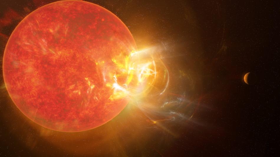 Llamarada Próxima Centauri 2019