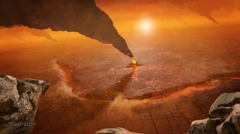 Volcanes Venus