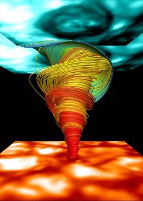 Tornados Magn 233 Ticos Rugen En El Sol Cosmo Noticias